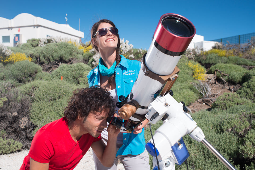 Guided tour of the Teide Observatory for groups