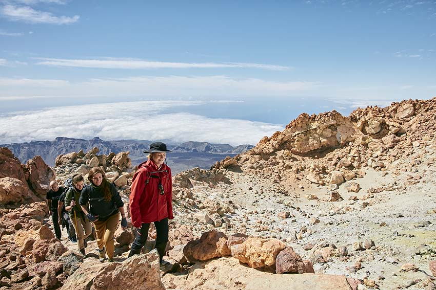 Ascent to the Peak of Teide on foot - private excursion