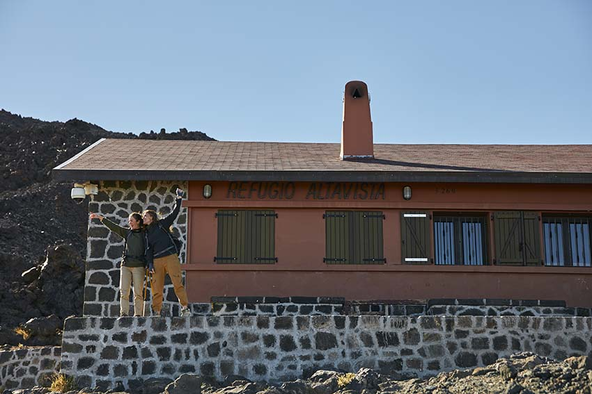 Mount Teide refuge reservation